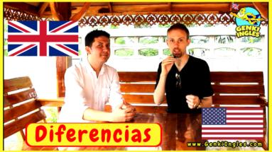 Diferencias entre el Inglés Britanico y Americano